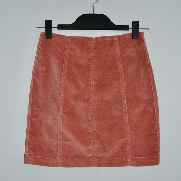MINKPINK First Saw You Corduroy Mini Skirt